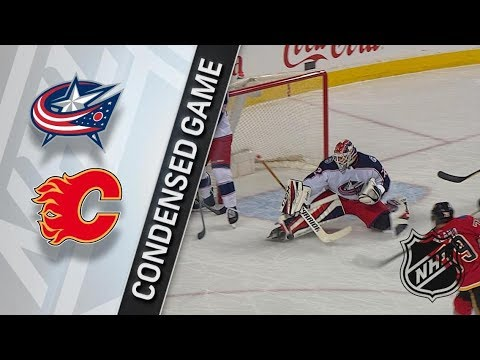 Columbus Blue Jackets vs Calgary Flames – Mar. 29, 2018 | Game Highlights | NHL 2017/18. Обзор