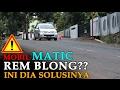 Mobil MATIC REM BLONG, Cara Mengatasinya
