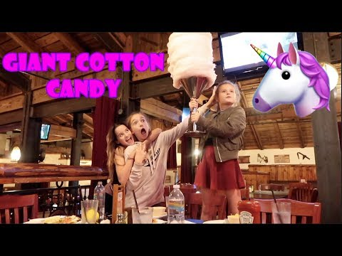 Giant Cotton Candy 🦄 (WK 350.6) | Bratayley