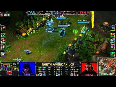 VUL vs TSM - LCS 2013 NA Spring W8D1 (English)