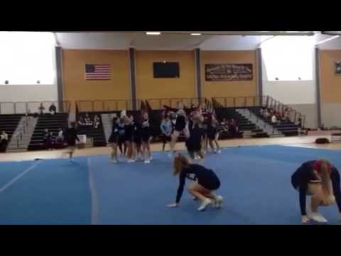 Westerly High School Cheerleading States 2014