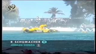 Ralf Schumacher F1 Crashes Collection