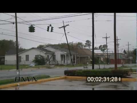 Hurricane Gustav Video, 2008 Part 7 - Houma, LA