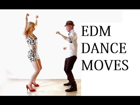 How to Dance to Electronic EDM Rave Techno Music (Club Dance Lessons)