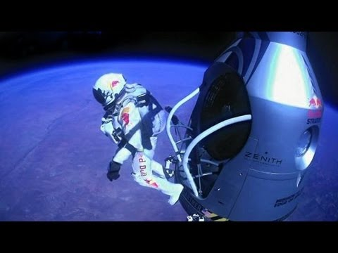 [Official] Felix Baumgartner freefall from the edge of space with New World Record