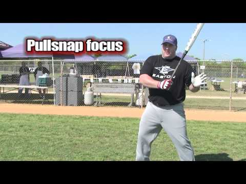 Softball Hitting Tips   What Focus do the Pro's use when Hitting?