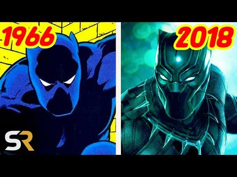 The Evolution of Black Panther From Comics To Movies