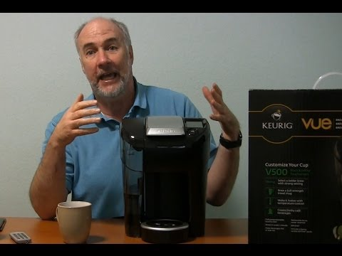 Keurig Vue V500 Single Cup Coffee Maker Review   EpicReviewGuys