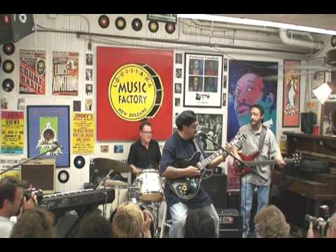 Leo Nocentelli @ Louisiana Music Factory JazzFest 2009 - PT 1