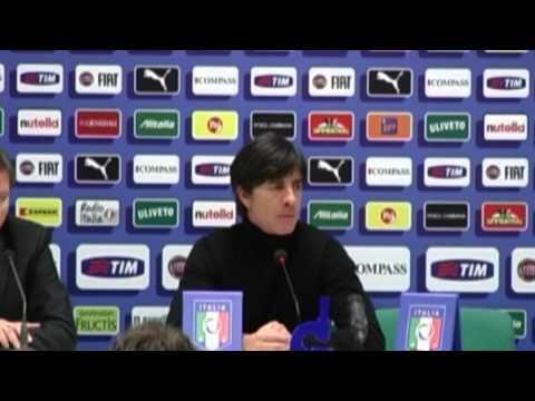 Löw lobt Philipp Lahm und Jerome Boateng - Sorge um Sami Khedira | Italien - Deutschland 1:1