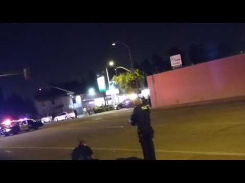 POLICE MURDER MAN shoot him in back multiple times pt1 2:10 cop acts stupid
