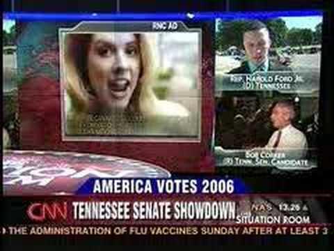 CNN Talks about Harold Ford Jr and Bob Corker.