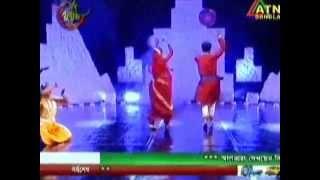 fusion dance on ATN Bangla Eid Program 30 July,14, choreograph by Tushar Chakraborty