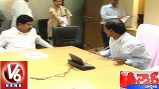 Download Former Deputy CM Rajaiah meets CM KCR - Teenmaar News (03-03-2015) 3Gp Mp4