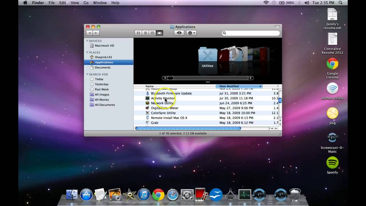 How to, check, macBook /iMac Version and Specifications