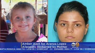 Statewide Amber Alert In Effect For Girl Allegedly Taken By Noncustodial Parent