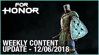 For Honor: Week 12/06/2018 | Weekly Content Update | Ubisoft [NA]