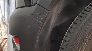 Car Repair: My Speciality (bumper texture repair)