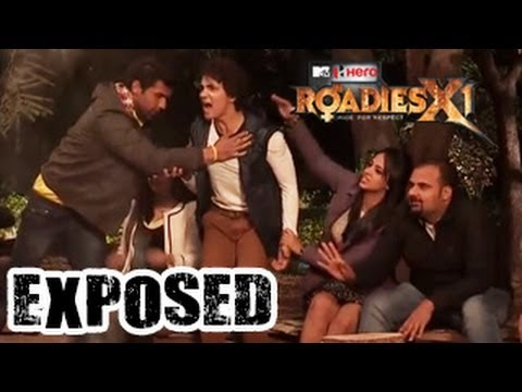 Roadies X1 Ride for Respect ROADIES Get ABUSIVE 19th April 2014...
