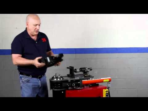 Model 52 Rotary Bender Demonstration Video by JD Squared. Inc.