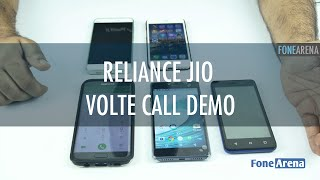 Reliance Jio VoLTE call demo and Video calling