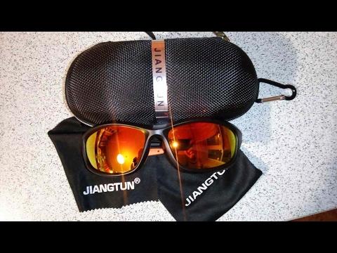 Посылка с Aliexpress: Спортивные Солнцезащитные Очки JIANGTUN