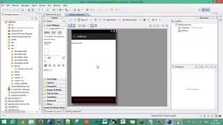 Android - Eclipse - 03 - Adding Banner Ads in Android App - Admob Monetization