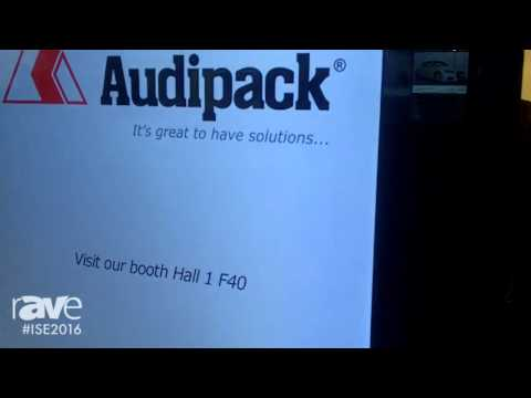 ISE 2016: Audipack Shows Housing for Indoor Displays