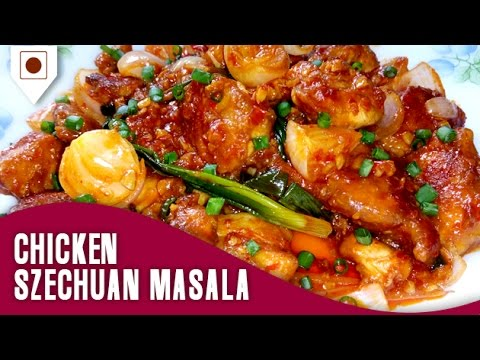 Chicken Szechuan Masala | चिकन सजेचुां मसाला | Easy Cook with Food Junction