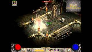 Diablo 2 - Mephisto battle