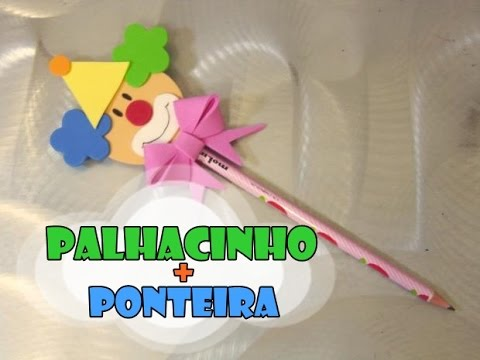 DIY.: Palhacinho + Ponteira