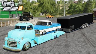FS19- OLD SCHOOL IS BACK IN STYLE! BUYING 1950's & 1970's CLASSIC CARS