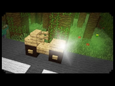 Minecraft how to make a motorcycle youtube for How to create a motor
