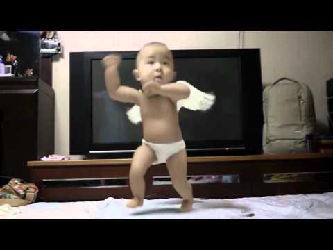 Gangnam Style baby parody