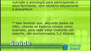 """Ministro do Esporte Orlando Silva - """"Faz propaganda"""" para ONG - PARTE 1"""
