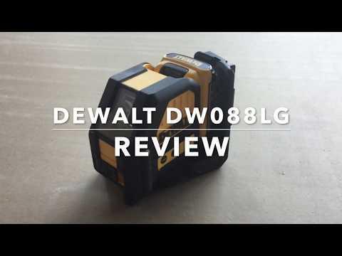 DEWALT DW088LG 12V Green Cross Line Laser Review
