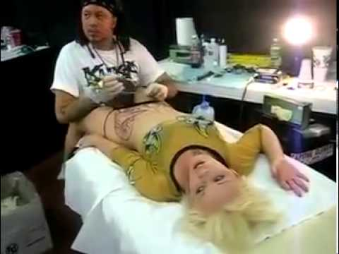 Orgasm By Tattoo. video