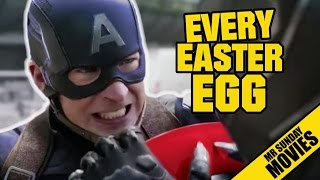 CAPTAIN AMERICA: CIVIL WAR Easter Eggs, Cameos & References
