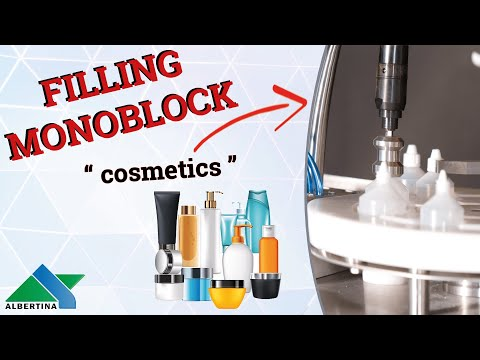 Albertina - Automatic filling and capping monoblock Pharmline 02