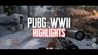 BACK TO WWII... (PUBG/WWII Highlights)
