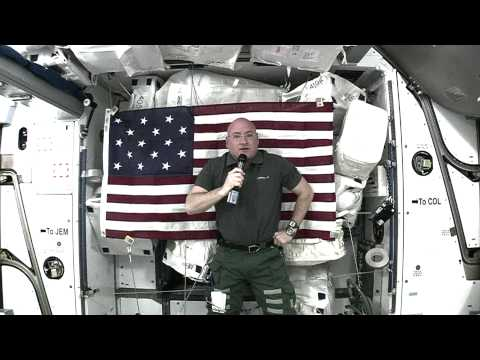 IS Video Message from the International Space Station