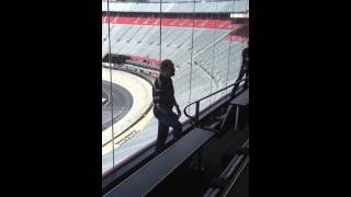 Rusty Wallace talks about Dale Earnhardt Sr. and water bottle incident at Bristol
