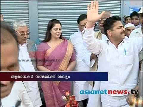 India Election News : Man Trying to Misbehave With Nagma While...