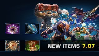 Dota 2 New Items - Patch 7.07