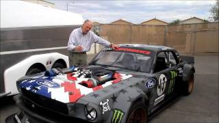 Peter Brock compares Ken Block's Hoonicorn to the original Shelby GT350s