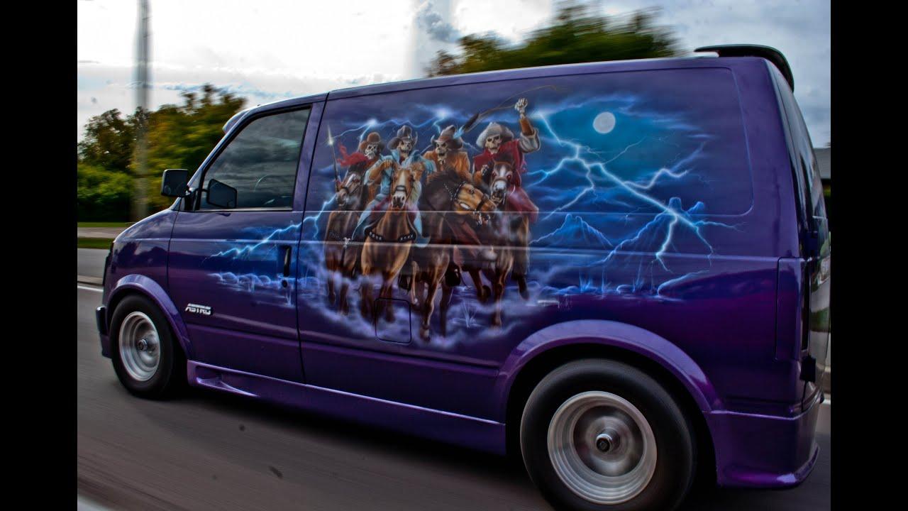 Minivan Food Truck