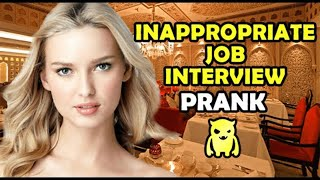 Inappropriate Job Interview - Ownage Pranks