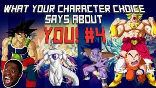 What YOUR character choice says about YOU [Dragon Ball FighterZ] [Part 4]