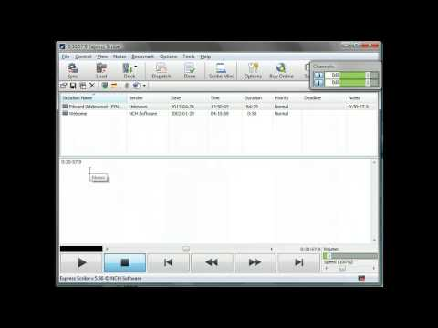 How to Tutorial: Using Express Scribe to transcribe audio recordings
