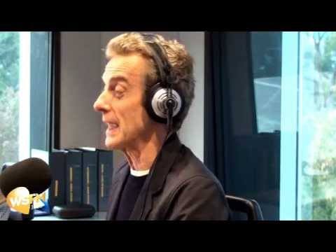 Jonesy & Amanda Interview Peter Capaldi